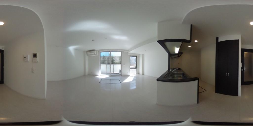フォンテーヌ駒沢102号室のパノラマ画像