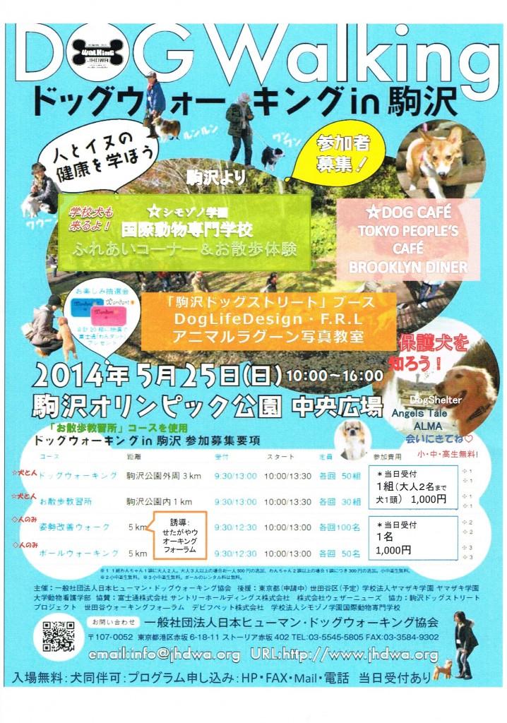 Dog Walking In 駒沢