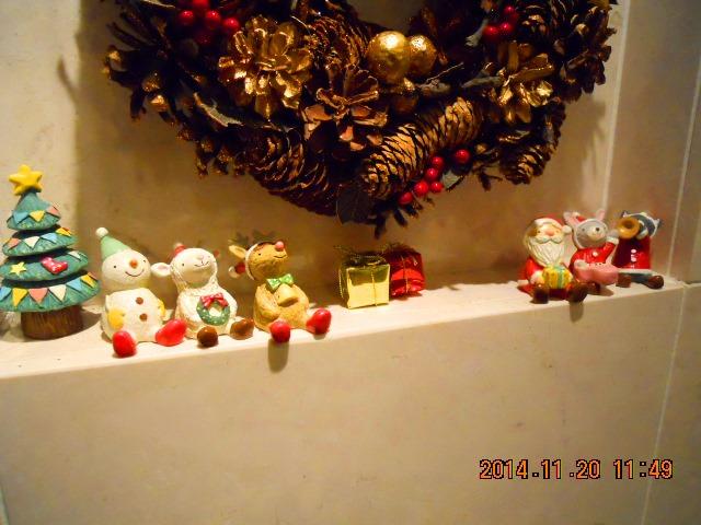 可愛い クリスマスマスコットたち